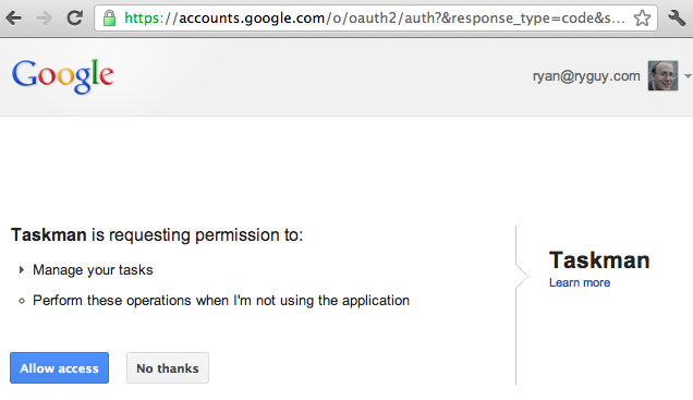 OAuth 2 0 - Google IO 2012